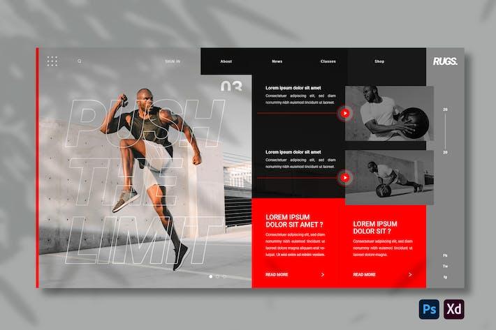 Sports | Hero Header