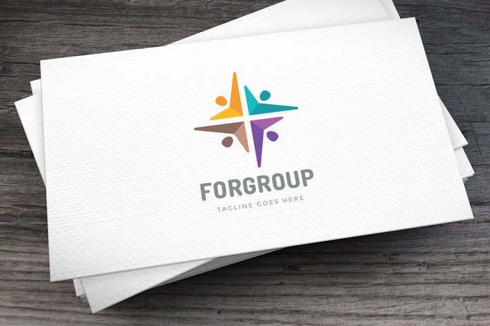 Thumbnail for Forgroup Logo Template