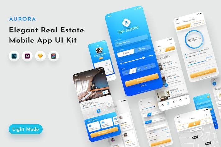 Thumbnail for Aurora Real Estate UI Kit