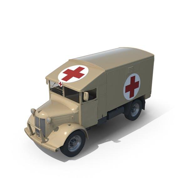Weinlese-Militär-Ambulanz