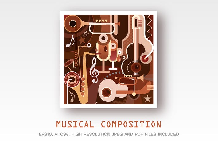 Thumbnail for Musical Composition vector artwork