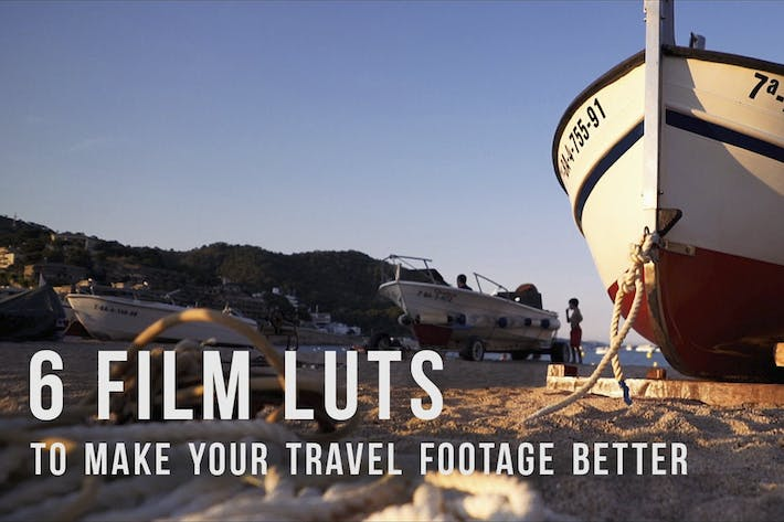 Thumbnail for Travel film LUTs
