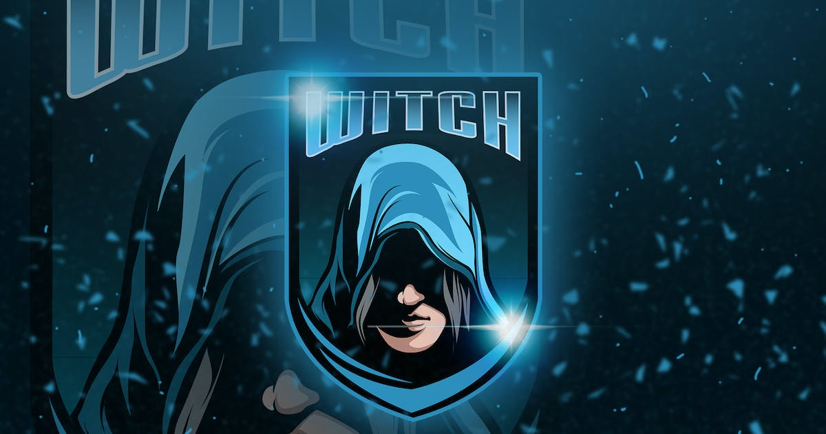 Download Witch - Mascot & Esport Logo by aqrstudio