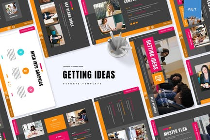 Getting Ideas | Keynote Template