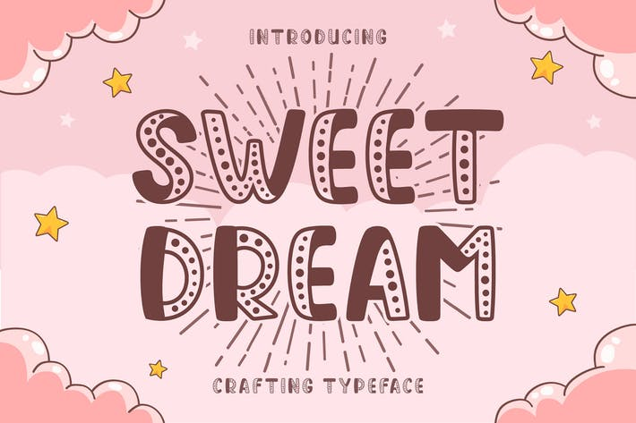 Thumbnail for Sweet Dream Display Font