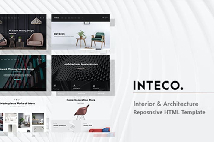 Thumbnail for Inteco - Interior & Architecture HTML Template