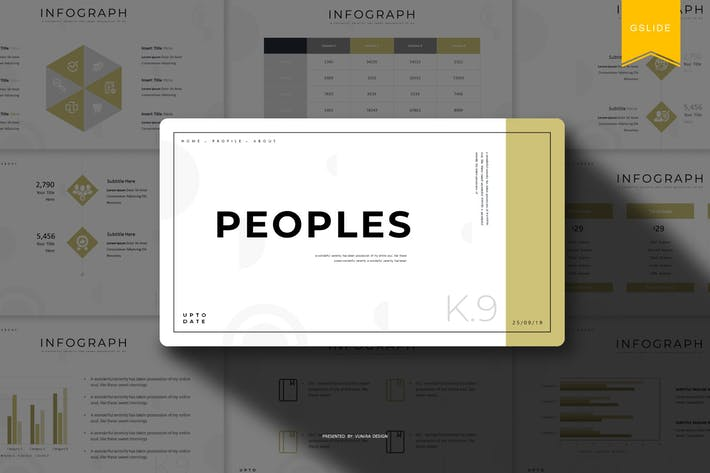 Peoples | Google Slides Template