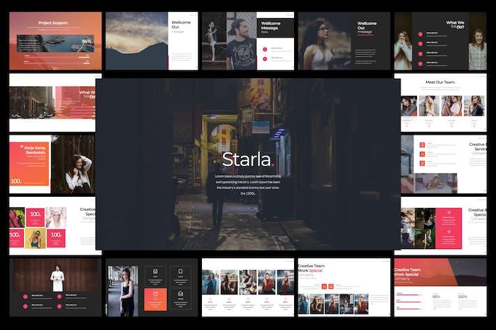Thumbnail for Starla. Google Slide Template