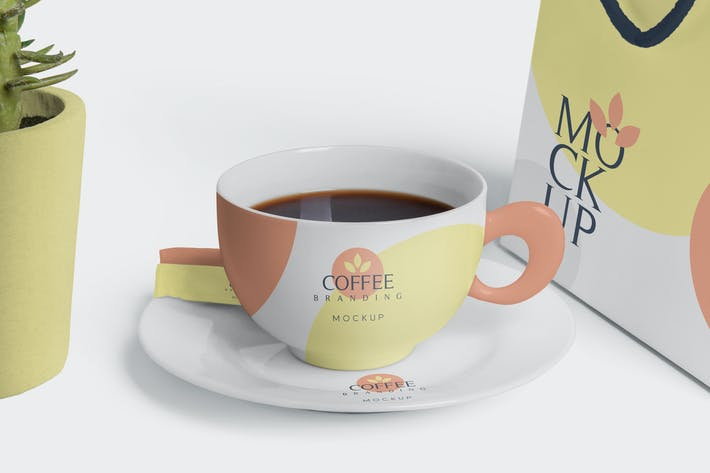 Thumbnail for Coffee Branding Mockups