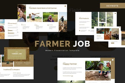Farmer Job - Keynote Vorlage