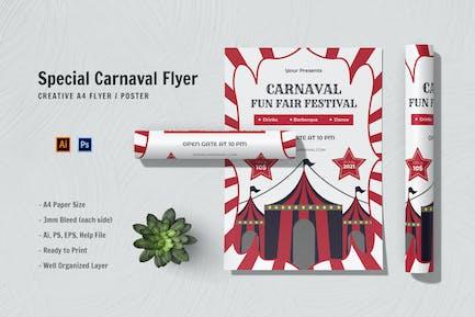 Special Carnaval Flyer