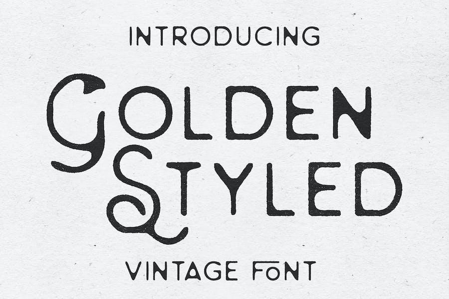 Golden Styled