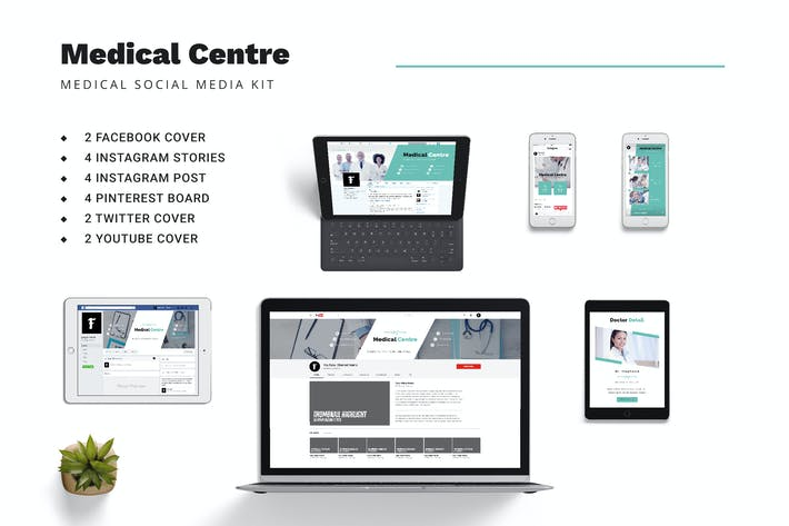 Medical Centre Social Media Kit