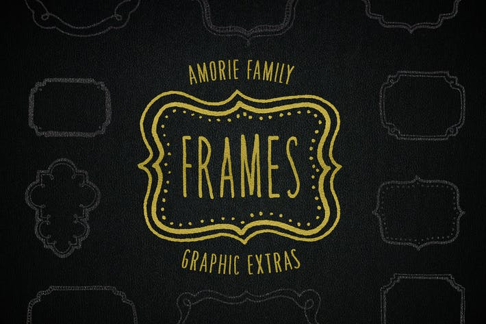 Thumbnail for Graphic Frames Elements