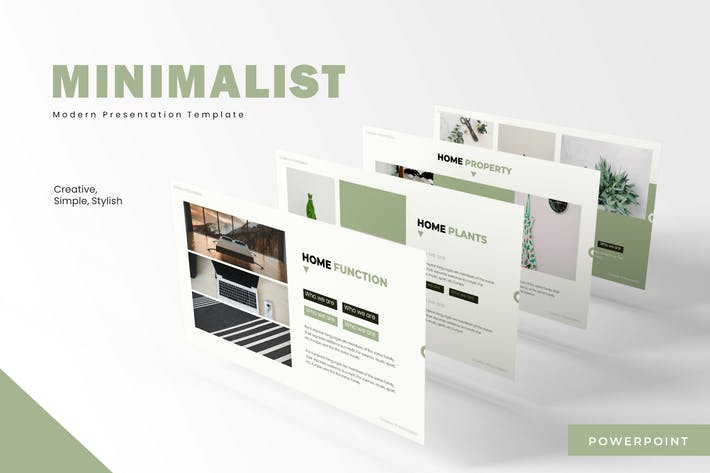 Thumbnail for Minimalist - Powerpoint Template