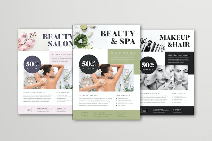 Thumbnail for Beauty & Spa Flyer