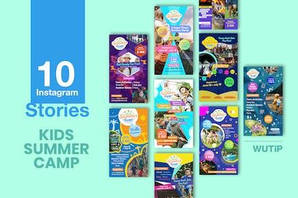 10 Instagram Stories - Kids Summer Camp