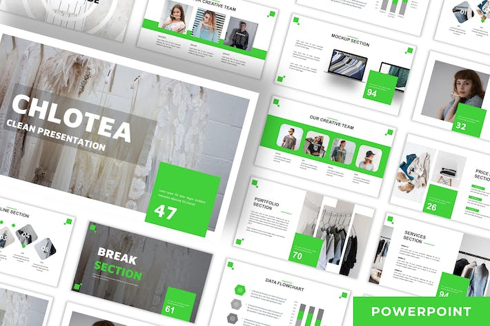 Thumbnail for Chlotea - Business Powerpoint Template