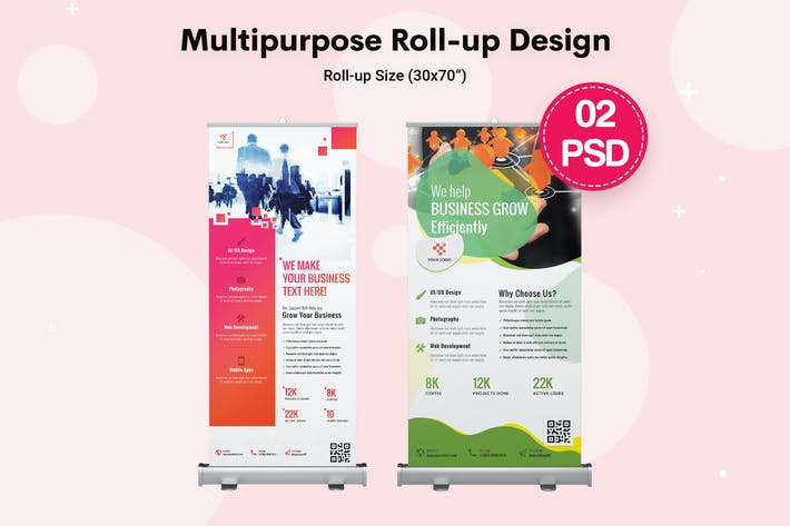 Thumbnail for Multipurpose Roll-up Banners