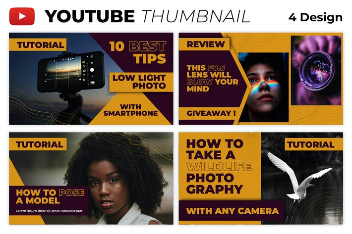 Best Tips Photography Youtube Thumbnail Template