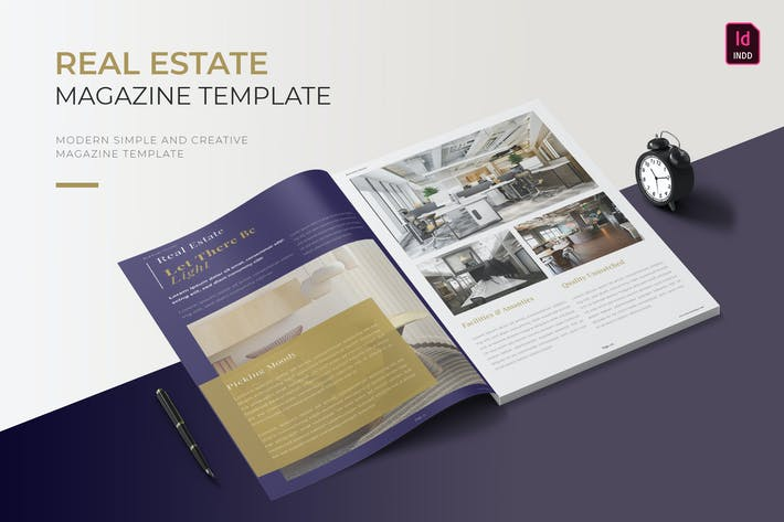 Thumbnail for Real Estate | Magazine Template