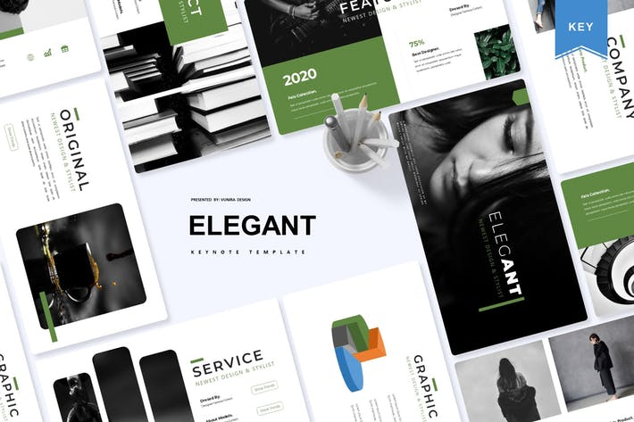 Thumbnail for Elegant | Keynote Template