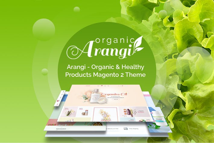 Thumbnail for Arangi - Organic Magento 2 Theme