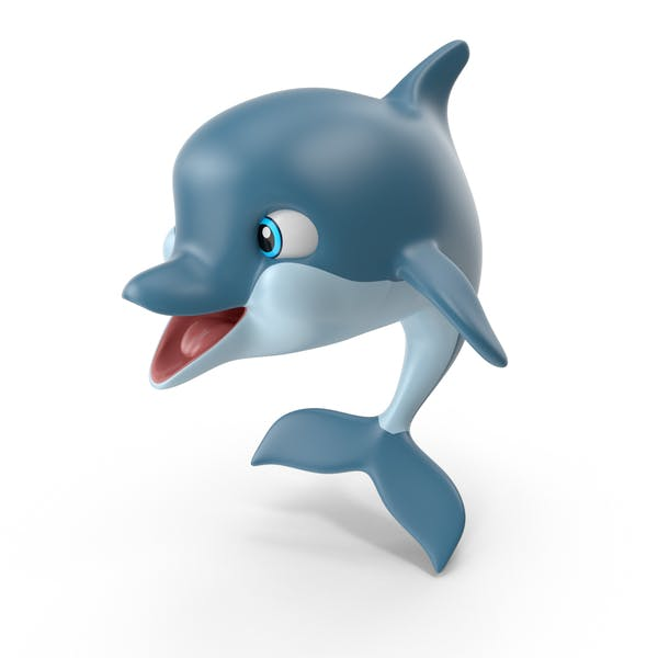 Cartoon Delfin