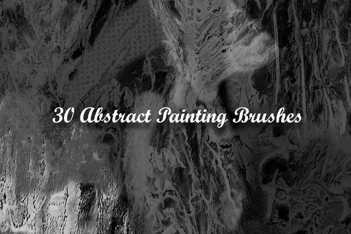 Thumbnail for 30 Abstract Painting Brushes