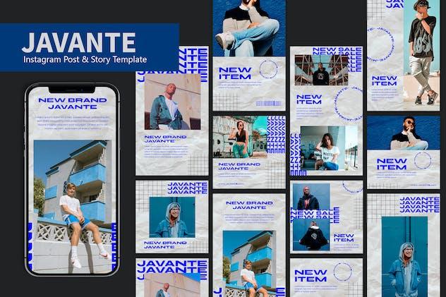 Javante - Instagram Post & Story Pack JW