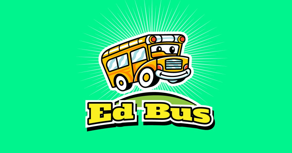 Download school bus - Mascot & Esport Logo by aqrstudio