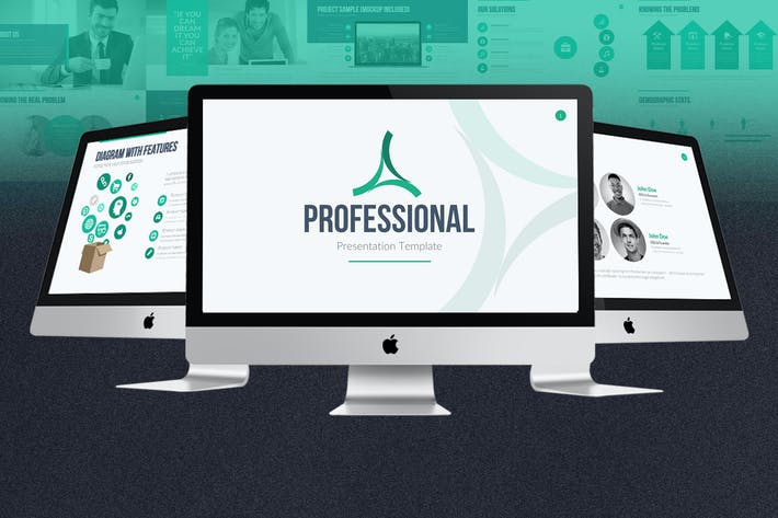 Thumbnail for Professional PowerPoint Template