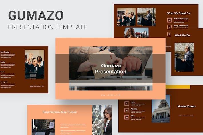 Thumbnail for Gumazo - Political Purposes Keynote