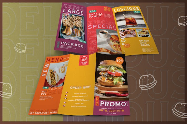 Thumbnail for Urban Fast Food - Brochure