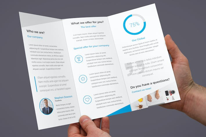 Thumbnail for ProBiz – Brochure Tri-Fold
