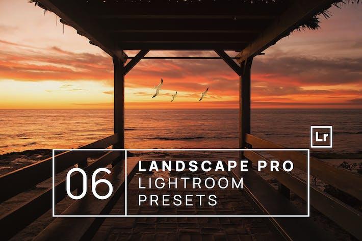 Thumbnail for 6 Landscape Pro Lightroom Presets + Mobile