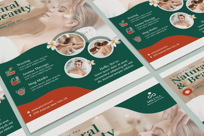 Yoga Poster PSD Template
