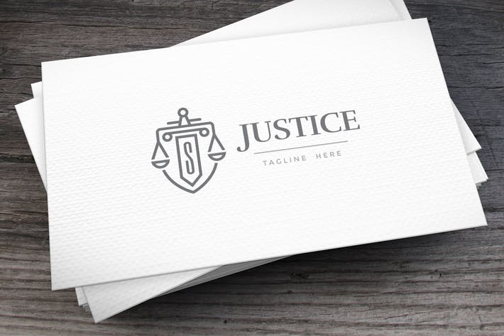 Thumbnail for Justice Logo Template