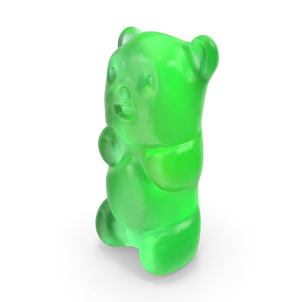 Thumbnail for Gummy Bear Candy Green