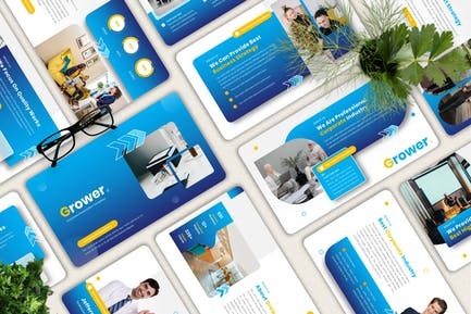 Grower - Corporate Powerpoint Template