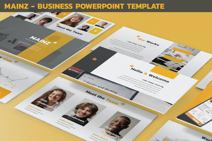Thumbnail for Mainz - Business Powerpoint Template