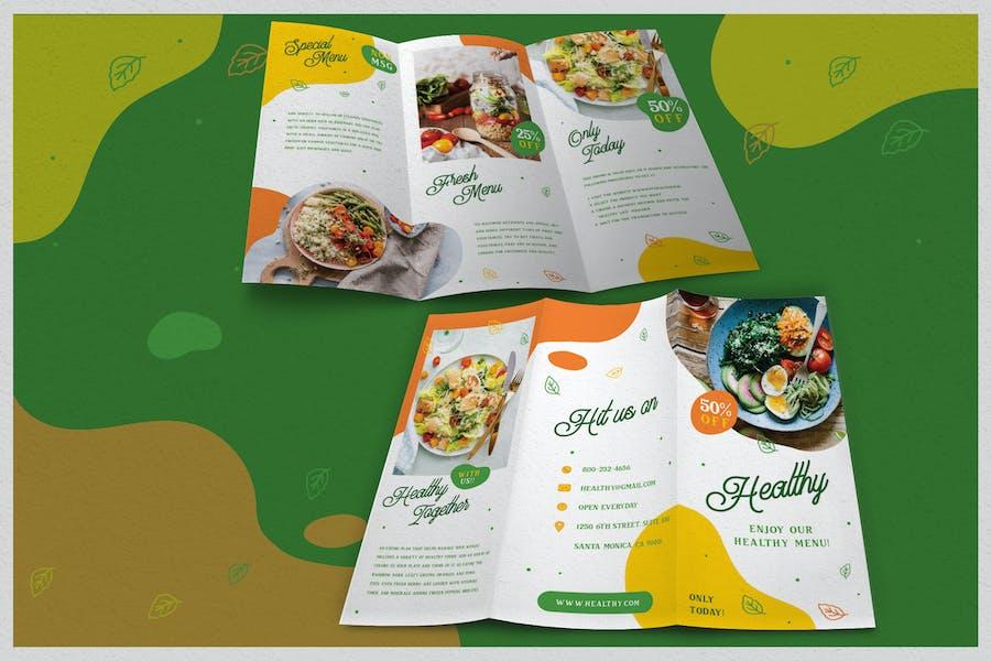 Fun Healthy Food - Brochure