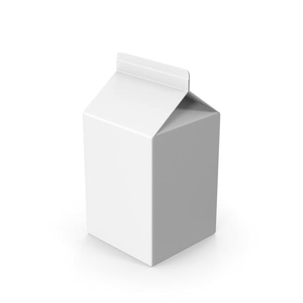 Картонная упаковка короткая