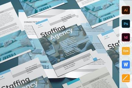 Staffing Agency Flyer