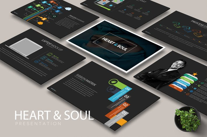 Cover Image For HEART SOUL Powerpoint