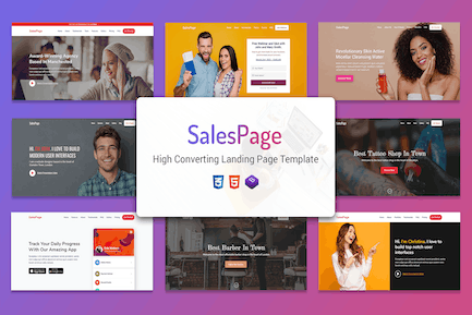 SalesPage - Apps, Business & Agencies Landing Page