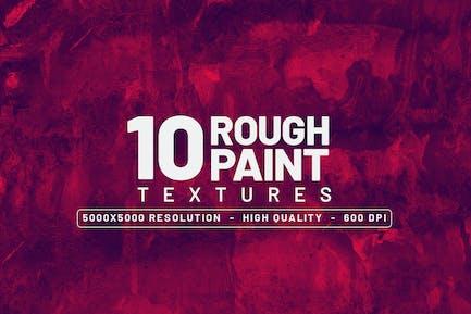 10 Rohfarben-Texturen