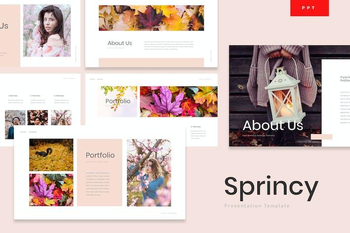 Thumbnail for Sprincy - Autumn Powerpoint Template