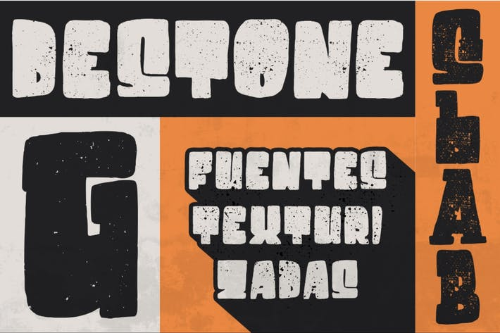 Thumbnail for Destone | Bold Display Font
