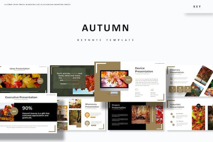 Thumbnail for Autumn - Keynote Template